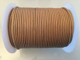 Rundleder 2mm Vintage Taupe