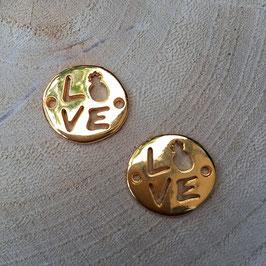 Verbinder Love Gold