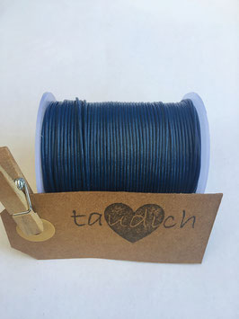 Rundleder 1mm  Blue