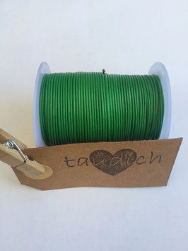 Rundleder 1mm Green