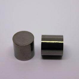 Endkappen (Gun Metal) 10mm
