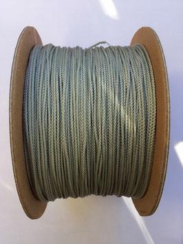 Micro Cord Silver Grey