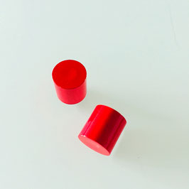 Endkappen Rot 10mm