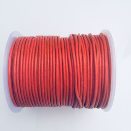 Rundleder 1,5mm Orange