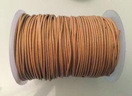 Rundleder 1mm Hazelnut