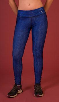 Leggings logo blue