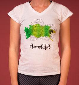 T-Shirt avocado white