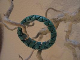 Türkis-Puder-Armband