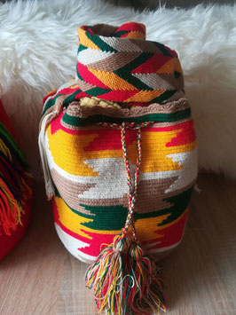Wayuu mochila Tasche (Multicolor)