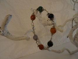 Mineral Armband mit Ball und Spirale