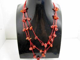 Mineralien Halskette