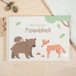 """Kindergarten Freundebuch """"Meine Freunde"""" - Wald"""