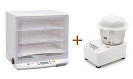 SET-1:ニーダーPK1012plus+発酵器PF102