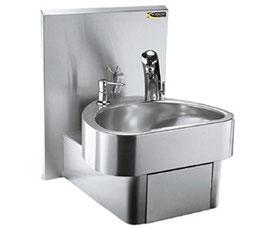 自動水栓型ステンレス手洗器