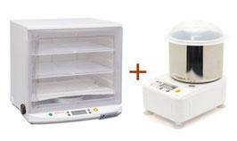 SET-3:ニーダーPK2025+発酵器PF102