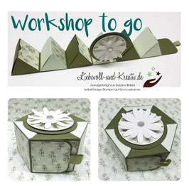 Workshop @Home: Hexagon-Schachtel