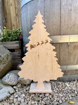 Weihnachtsbaum Santa is Coming