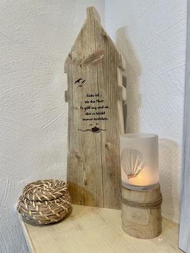 Leuchtturm Bohle Liebe ist mit Schiff