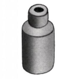Arrêt de gaine pour levier frein alu Ø 5,5 mm