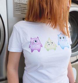 "[Femme] T-shirt ""Petits Monstres"""