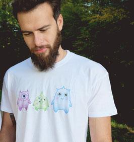 "[Homme] T-shirt ""Petits Monstres"""