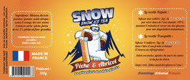 Snow Ice Tea - Pêche & Abricot