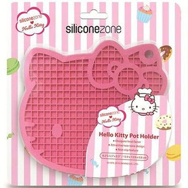 Agarrador Silicona Hello Kitty