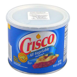 Manteca vegetal Crisco 450gr