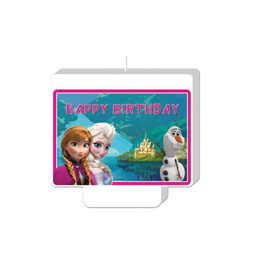 Vela Temática Frozen Happy Birthday