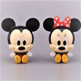 Kit Figura Baby Mickey Mouse y Minnie Mouse