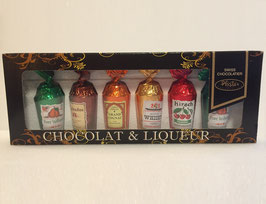 Chocolat noir aux liqueurs assorties