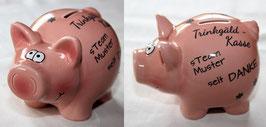 Spar-Schwein Trinkgeldkasse