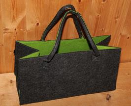 super-shopper - grün / anthrazit