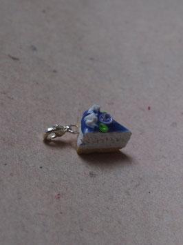 Charm Rosentorte blau