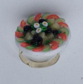 Ring Griechischer Salat