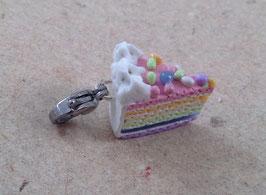Charm Regenbogen-Torte pastell