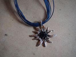 Kette Edelweiss blau