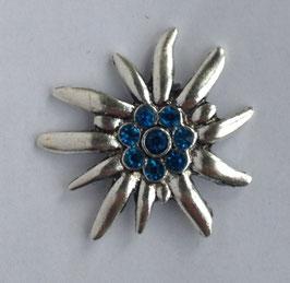 Ring Edelweiss blau