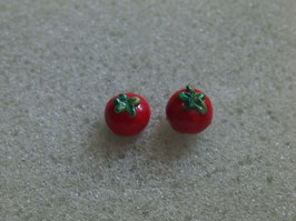 Ohrstecker Tomate