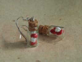 Ohrringe Nikolausstiefel im  Fläschle