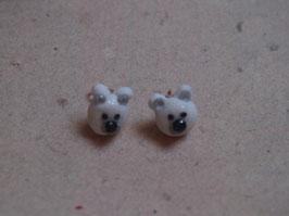 Ohrstecker Eisbären