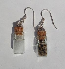 Ohrringe Salz&Pfeffer Fläschle
