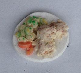 Ring Maultaschen mit Kartoffelsalat