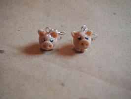 Ohrringe Schweinchen