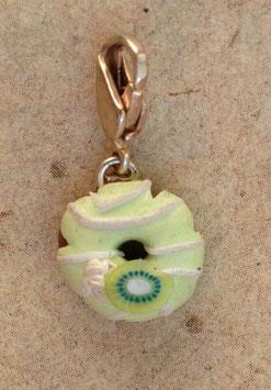 Charm Anhänger Donut Kiwi