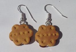 Ohrringe Keks