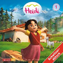 HEIDI Mundart TV-SERIE, Hörspiel mit 2 CDs - Vol. 1