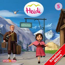 HEIDI Mundart TV-SERIE, Hörspiel mit 2 CDs - Vol. 5