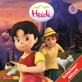 HEIDI Mundart TV-SERIE, Hörspiel mit 2 CDs - Vol. 2