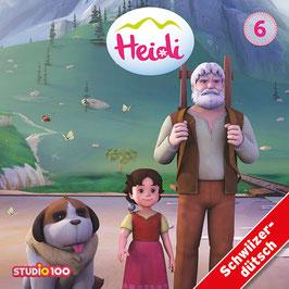 HEIDI Mundart TV-SERIE, Hörspiel mit 2 CDs - Vol. 6